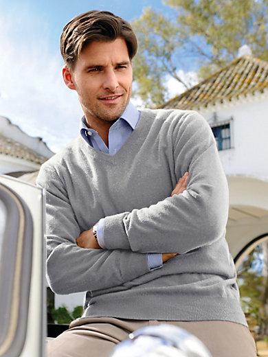 Peter Hahn - V-neck jumper in 100% cashmere - Design VALENTIN