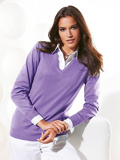 Peter Hahn - V-Pullover Modell INGE aus Pure Tasmania Wool