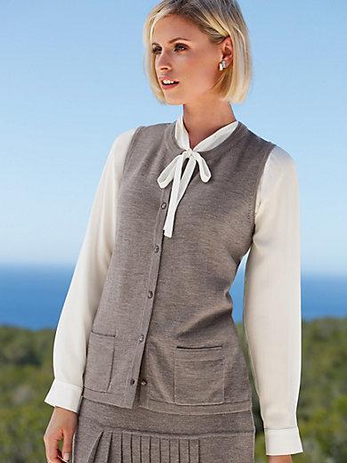 Peter Hahn - Waistcoat in 100% new milled wool