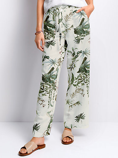 Peter Hahn - Wide trousers Cornelia fit