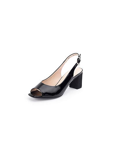 Peter Kaiser - Soft patent calfskin leather sandals
