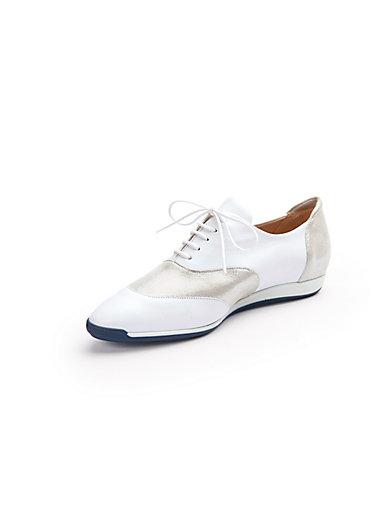 Chaussures En Dentelle Waldläufer Blanc / Argent 9aDBPSfBtk