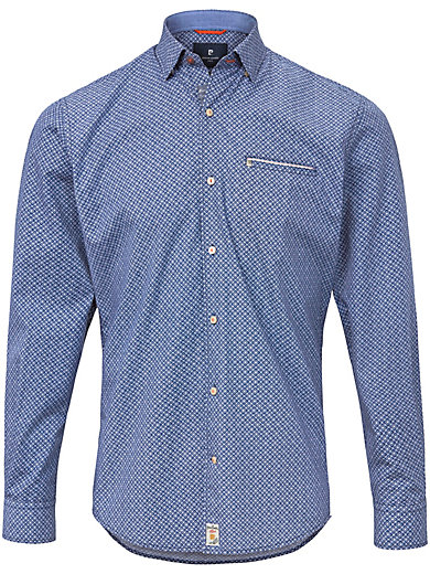 Pierre Cardin - Hemd mit under-button-down-Kragen