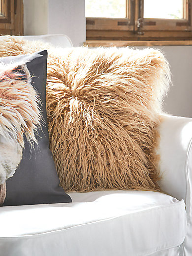 Proflax - Kissenbezug Felloptik, ca. 45x45cm