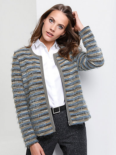 Rabe - Cardigan with knitted textures