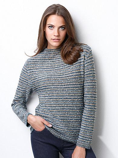 Rabe - Pullover mit Stehbundkragen