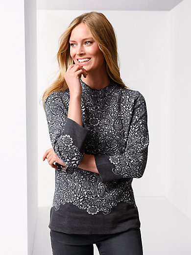 Rabe - Pullover with 3/4-length sleeves