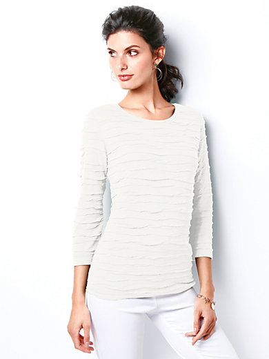 Rabe - Shirt met 3/4-mouwen