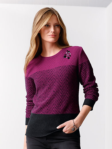 Rabe - Trui van hoogwaardig fijne tricot