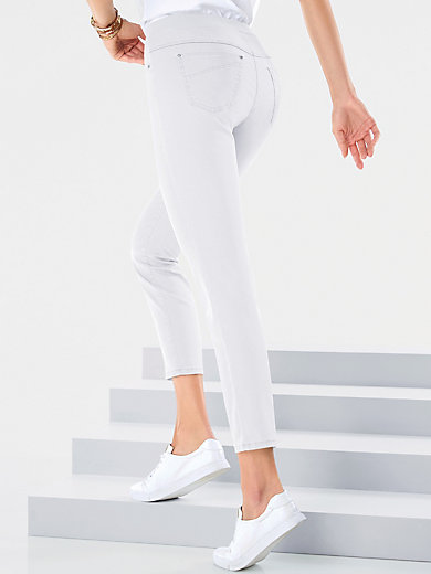beauty new high running shoes 7/8-length pull-on jeans design Pamina