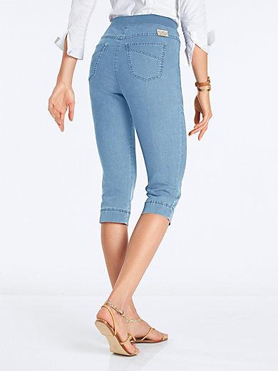 Pantalon Confort Plus Capri - Conception Caroline Raphaela Par Brax Brax Noir xntgDnV
