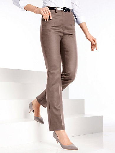 Raphaela by Brax - Flanell-Hose Modell NANCY Pro Form Slim