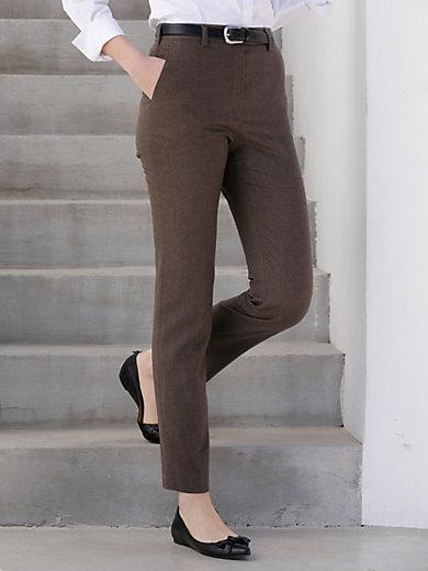 Flannel trousers NANCY Pro Form Slim Raphaela by Brax grey Brax SkjN3