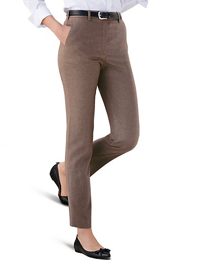 "Raphaela by Brax - Le pantalon en flanelle NANCY ""Pro Form Slim"""