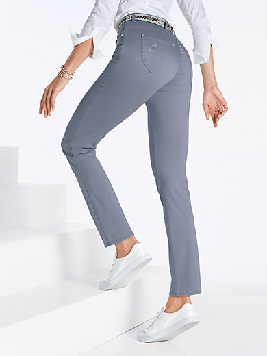 ProForm S Super Slim trousers - design INA BELLE Raphaela by Brax blue Brax B9MccHX