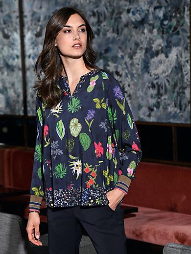 Riani - Bluse mit Blüten- und Blattmuster