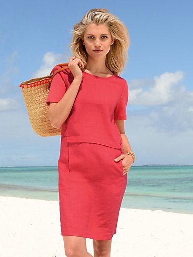 Riani - Kleid mit 1/2-Arm aus kühlendem Leinen