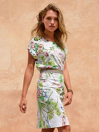 Riani - La jupe en coton stretch imprimé, taille élastique