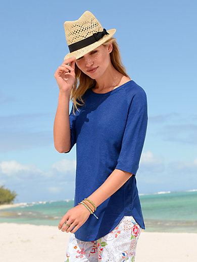 Riani - Shirt met ronde hals, van 100% linnen