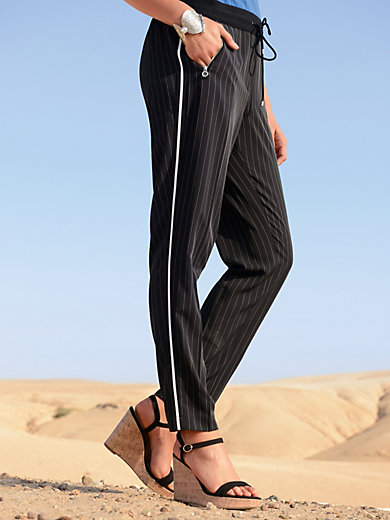 Riani - Trousers with pinstripes