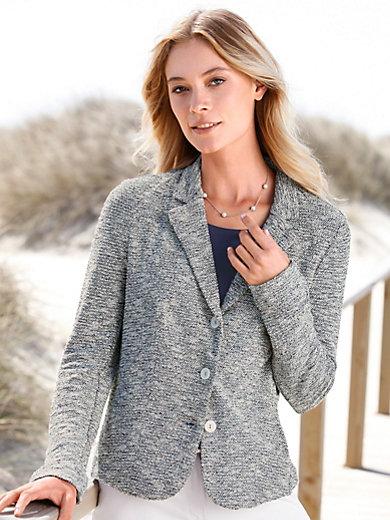 Rössler Selection - Le blazer imprimé en jersey, col tailleur