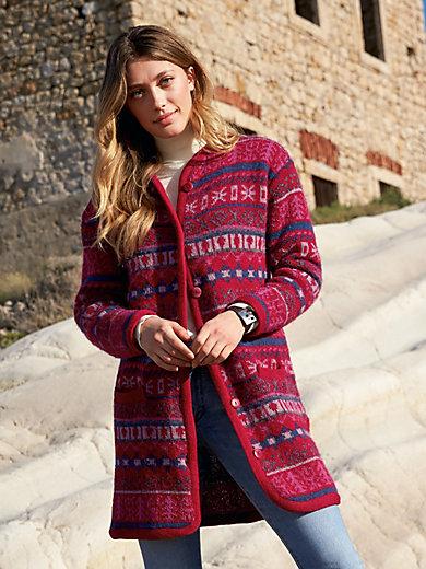 SAGA - Coat in 100% new milled wool