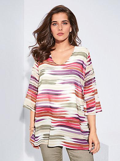 Dress short sleeves Samoon multicoloured Samoon oOMww8oFO