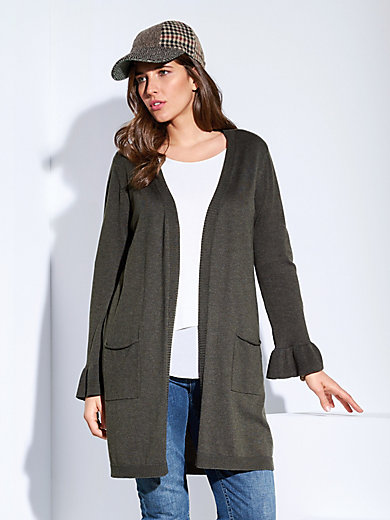 Samoon - Long-Strickjacke