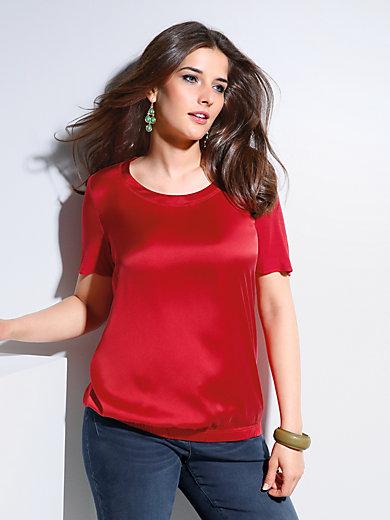 Samoon - Shirt mit Rundhals-Ausschnitt