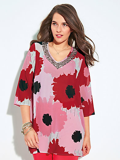 Samoon - Top with 3/4-length sleeves