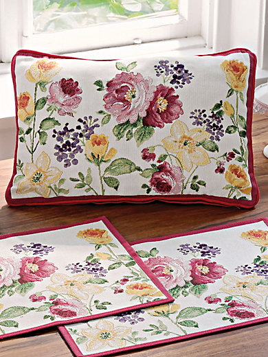 sander kissen violett multicolor. Black Bedroom Furniture Sets. Home Design Ideas