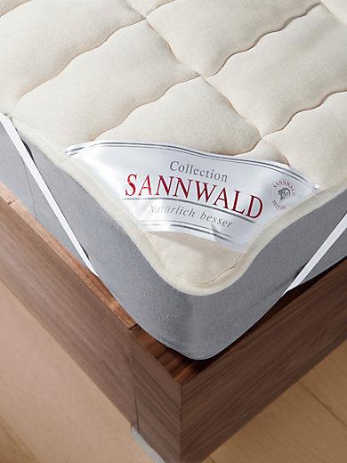 Sannwald - Schurwolle-Spannauflage ca. 90x200cm