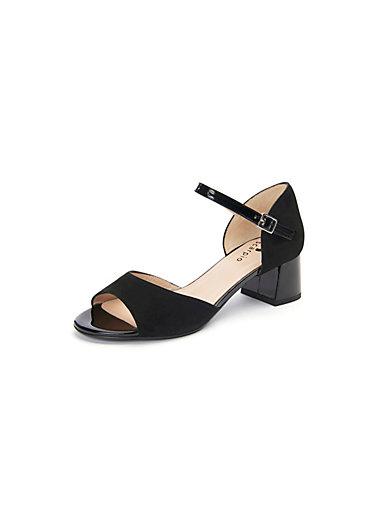 Scarpio - Sandale mit Details in Lackleder