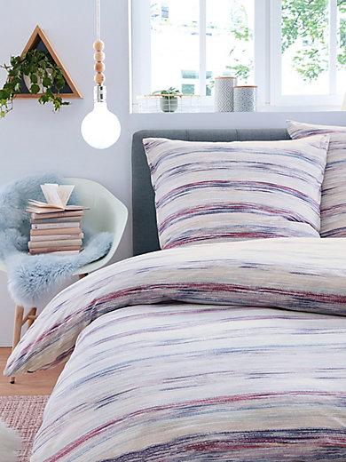 schlafgut bettw sche garnitur ca 135x200cm 80x80cm lila. Black Bedroom Furniture Sets. Home Design Ideas