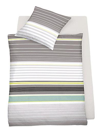 Schlafgut - Bettwäsche-Garnitur ca. 135x200cm