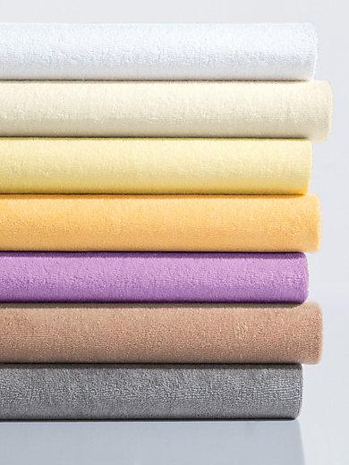 schlafgut le drap housse ponge azal e. Black Bedroom Furniture Sets. Home Design Ideas