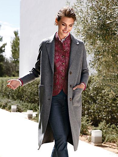 Schneiders Salzburg - Coat in lightweight, unlined jersey loden
