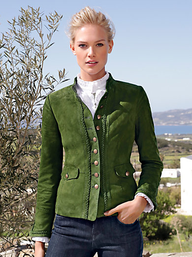 Schneiders Salzburg - Country style jacket in 100% leather