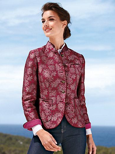 Schneiders Salzburg - La veste aspect brocart, petit col montant