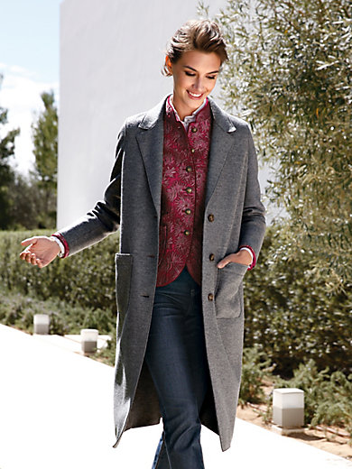 Schneiders Salzburg - Le manteau en pure laine vierge