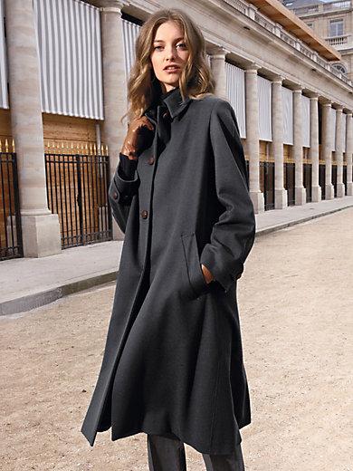 Schneiders Salzburg - Loden coat with a slip-on collar