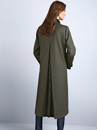 Schneiders Salzburg - Loden coat with a slip-on collar