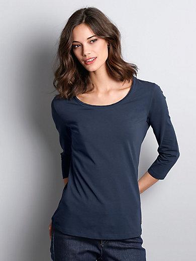 Schneiders Salzburg - Rundhals-Shirt mit 3/4-Arm