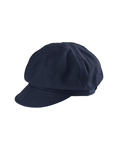 Seeberger - Foldable sun visor cap - navy 179ae8c2503