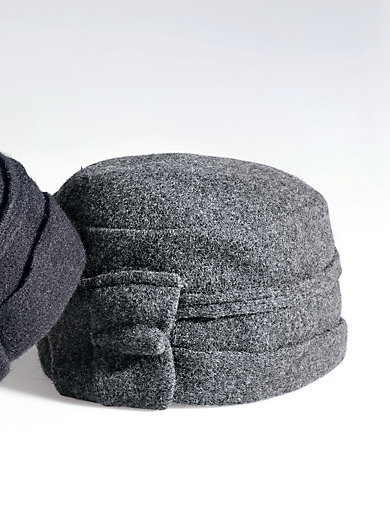 Seeberger - Mütze aus gewalkter Schurwolle