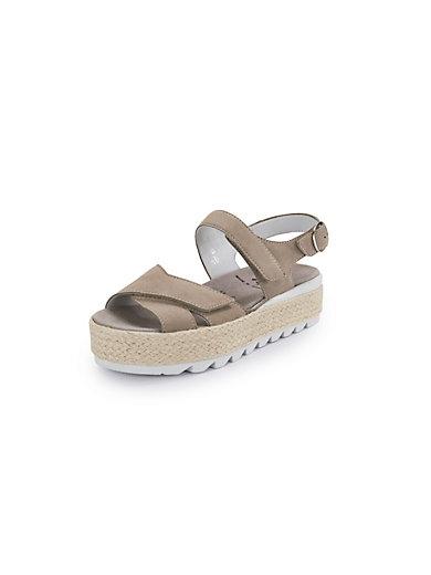 2cb24afe56a Semler - Fanny platform sandals - sand