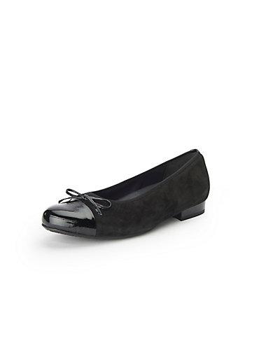 Semler - Les ballerines «Fabia» en cuir