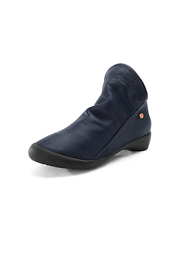 8a053d1a73d Softinos - Ankle boots Farah in 100% leather - navy