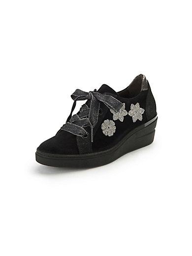 Softwaves Noir Les En Jess Cuir Sneakers rSgqATr