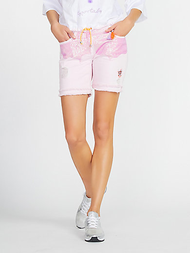 Sportalm Kitzbühel - Jeans-Shorts im Destroyed-Look